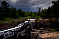 Late Evening Storm Clouds at Jay Cooke State Park
