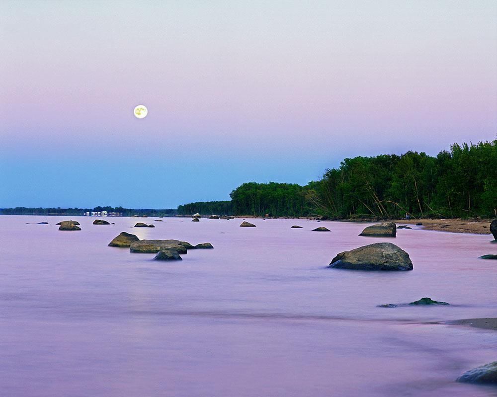 Zippel Bay Moonrise