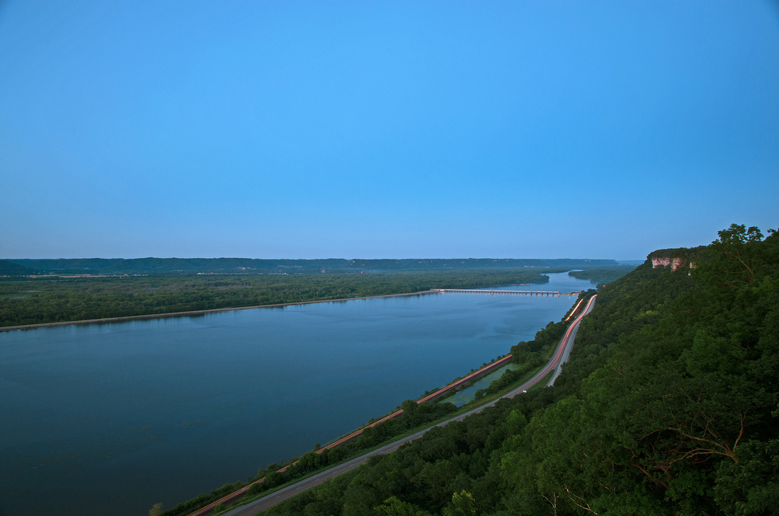 Highway 61 from the Bluff