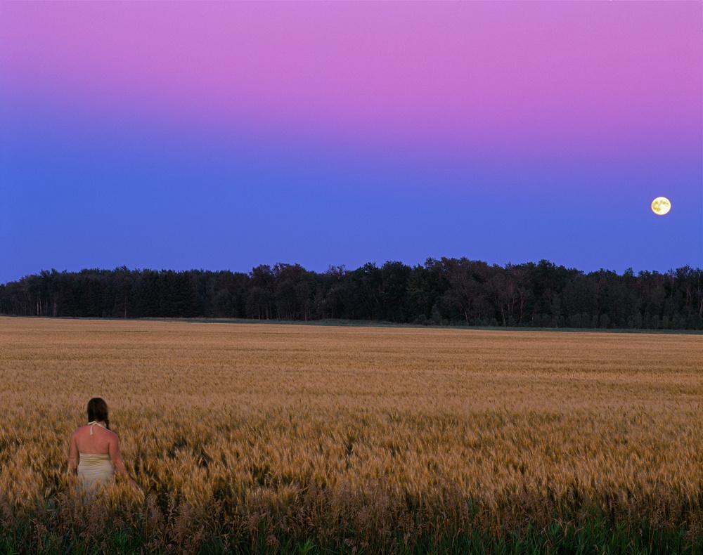 Moonrise Roseau Minnesota