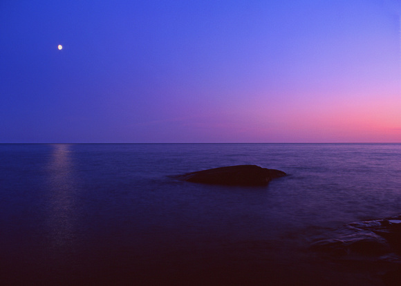 Moon Over Superior