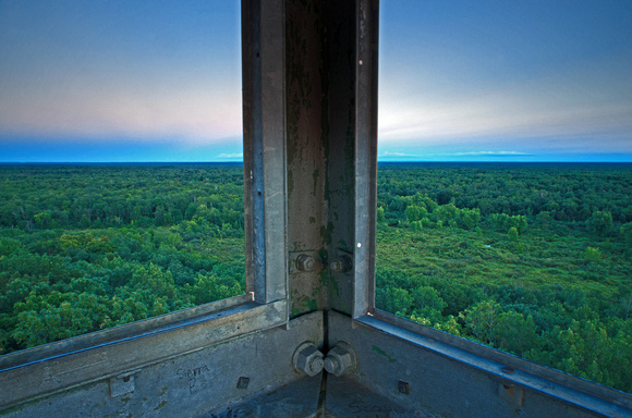 Twilight From the Fire Tower