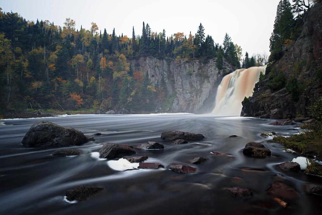 Tettegouche State Park in Autumn
