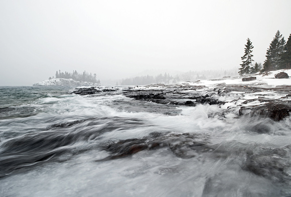 Lake Superior Winter Storm