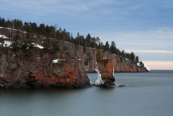 Shovel Point and the Fallen Arch