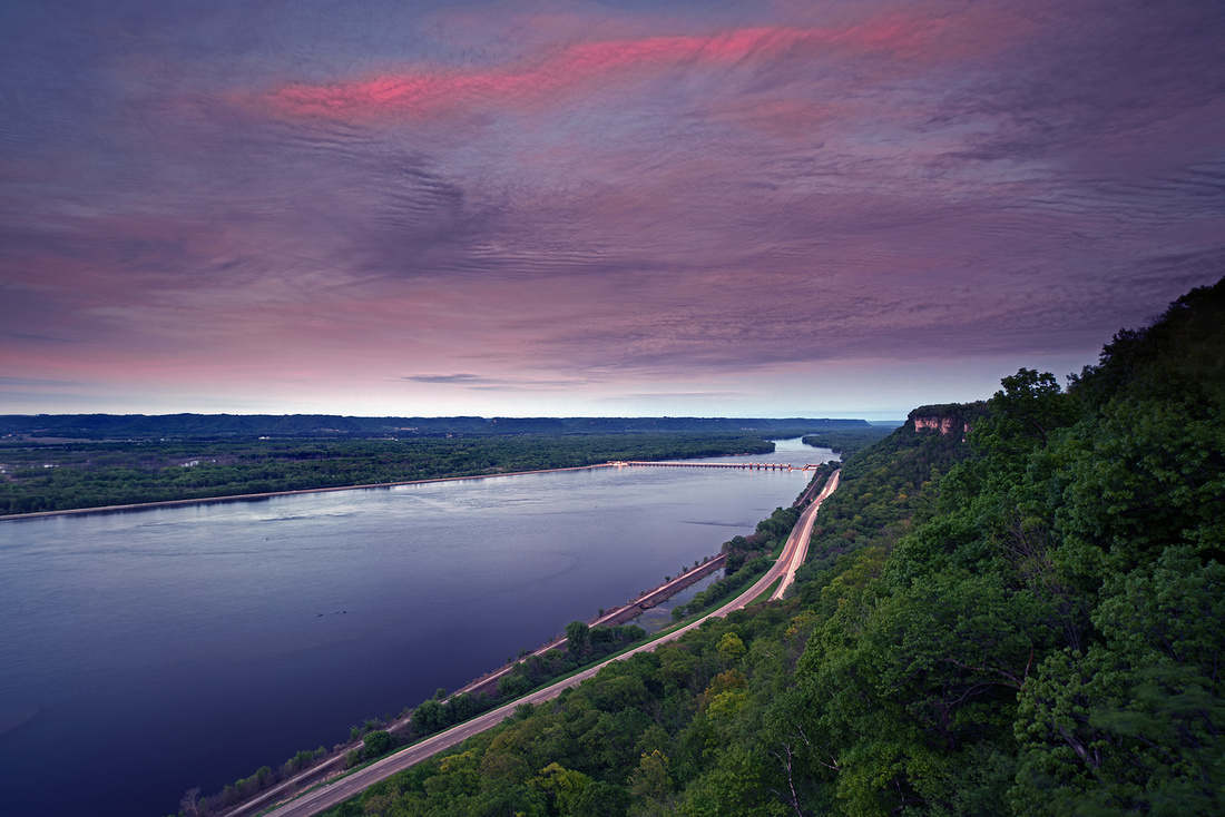 John A. Latsch State Park Spring Twilight